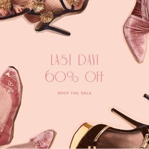 Last Day: 60% OffSweet Spectacular Sale @ Charlotte Olympia
