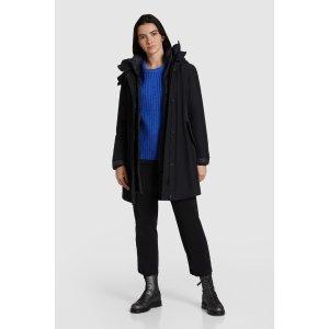 Woolrich封面黑色款3合1大衣