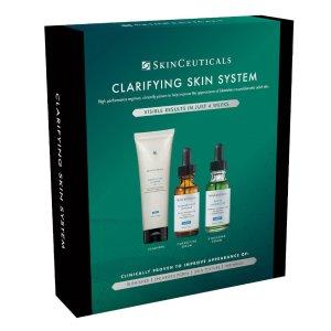 SkinCeuticals变相6.5折!价值£190色修精华+果酸精华+洁面