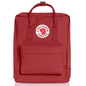 Fjallraven, Kanken Classic Backpack for Everyday, Deep Red