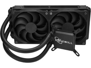 Rosewill CPU Liquid Cooler Quiet 240mm PWM Fans
