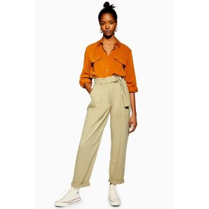 TopshopBelted Menswear Style Trousers