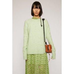 Acne Studios薄荷绿针织衫