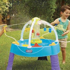 $47.97(原价$79.99)包邮Little Tikes  儿童戏水桌 夏天和小伙伴来玩水吧