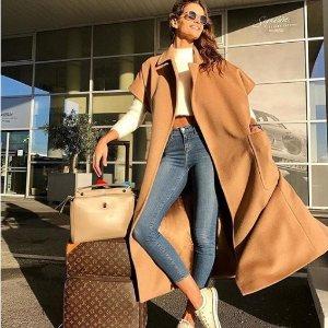 最高7.5折 精致女人必备Max Mara 经典驼色羊毛大衣享最高折扣