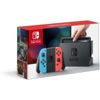 Nintendo Switch 续航增强版 红蓝