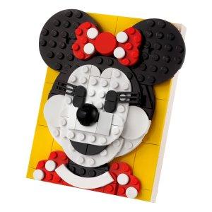Lego大头米妮妹妹超萌!米妮 40457 | 大头画框系列