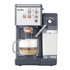 Breville 一键式VCF107咖啡机-灰色