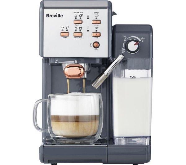 一键式VCF107咖啡机-灰色