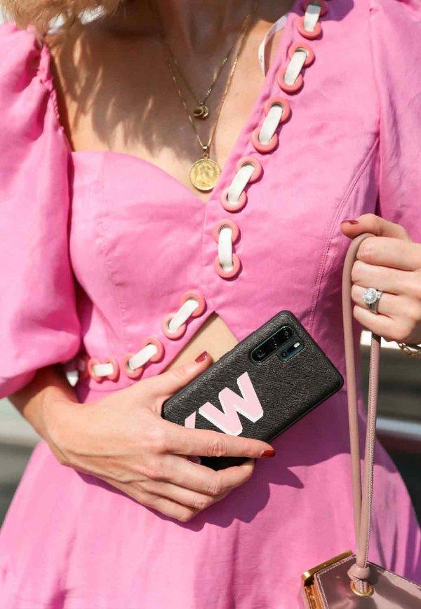Coda Eyelet 粉色连衣裙