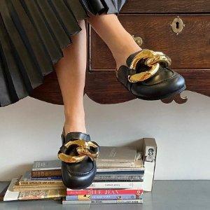 定价优势 €495收封面款JW Anderson 粗金链乐福鞋 春夏博主Chic穿搭 新款上架