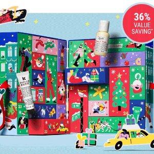 变相6.4折+送7件!定价£99Kiehl's 科颜氏圣诞日历正式上市 走货飞快!24日豪华惊喜!