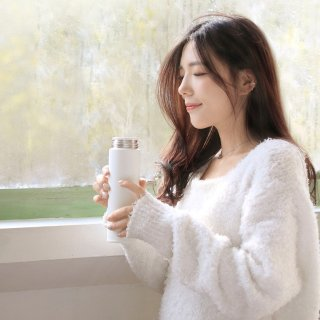 $9.99Xiaomi Mijia Stainless Steel Thermal Cup Large Capacity Portable Insulation Bottle Water Cup,500ML