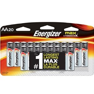 $6.6Energizer 劲量 MAX AA 电池20个