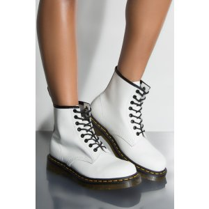 Dr. Martens1460 SMOOTH WHITE BOOTIES