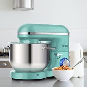$135.99包邮(原价$199.99)限今天:Aucma 立式多功能搅拌机、厨师机 6.5夸脱 660瓦