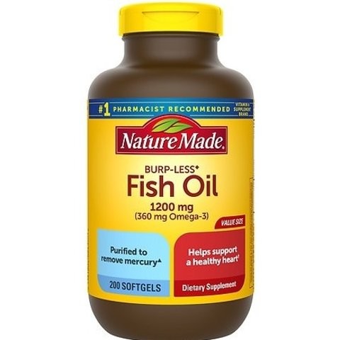 Buy 1 Get 1 Free + 15% OffNature Made Ultra Omega-3 Fish Oil 1400 mg
