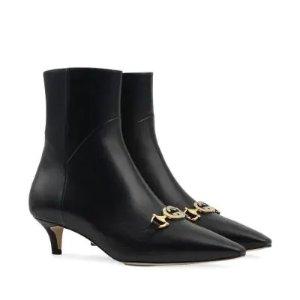 Gucci经典马衔扣靴子