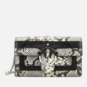 Pinko凑单减£70蛇纹链条钱包