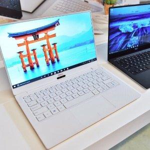 2018 CES 新品 开卖,直降$50颜值巅峰!新款白色超窄屏 XPS 13 (i5-8250U, 4GB, 128GB SSD)