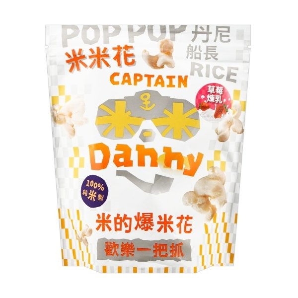 丹尼船长 米米花 草莓口味 100g