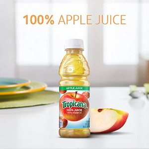 $9.09Tropicana Apple Juice, 10 oz, 24 Count