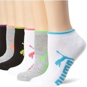 $10.99($11.99)+Free ShippingPUMA Women's 6 Pack Low Cut Socks