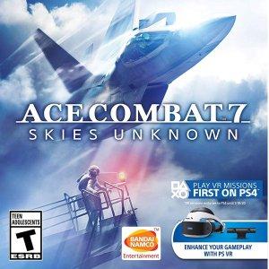 $52(原价$59.99)最新大作《皇牌空战7》PS4 / Xbox One 实体版