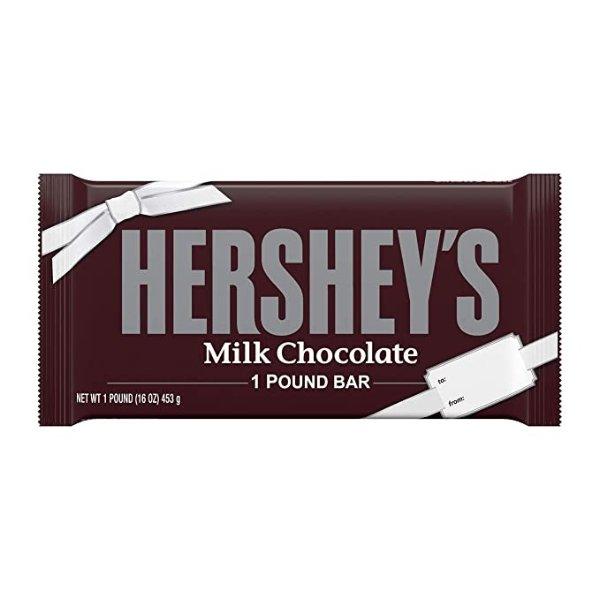 牛奶巧克力板 1磅