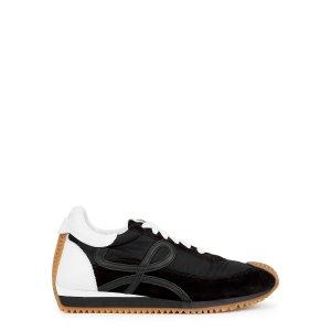 LoeweFlow Runner black panelled sneakers