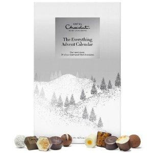 Hotel Chocolat或满£80减£20:STSMHCXMAS什锦圣诞日历