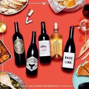 一年订阅费用低至5.5折Winc 精品葡萄酒订阅服务促销