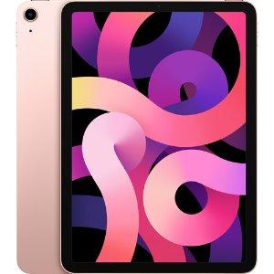 """$699 包邮Apple 10.9""""全面屏 iPad Air (第4代, 256GB, Wi-Fi版, 玫瑰金)"""