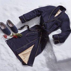 全场85折+评论抽奖送最高£160居家睡衣Derek Rose 奢侈睡衣居家系列 卷福、小雀斑、赛琳娜都在穿!