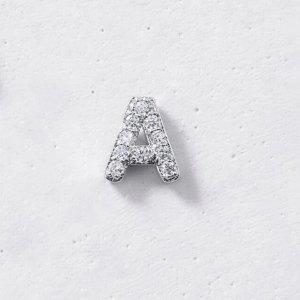 26字母耳钉