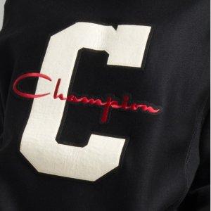 5.1折 $40.93(原价$80.99)Champion 男士编织连帽运动衫 Xs码 女生也能穿