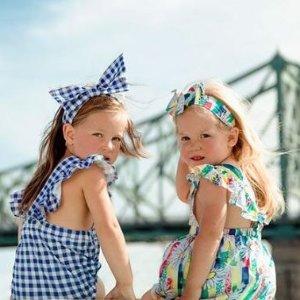 低至5折 粉粉连衣裙$29Deux par Deux 小公主的魔法衣橱 格子裙$29、牛仔外套$31