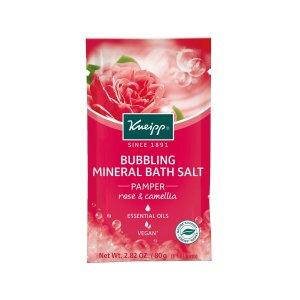"KneippMini Rose & Camellia Bubbling Mineral Bath Salt - ""Pamper"""