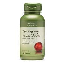 GNC 蔓越莓精华 500mg100粒装