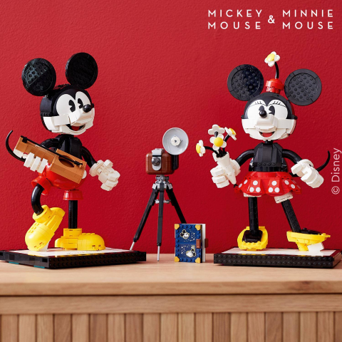 $179.99New Arrivals: LEGO Mickey Mouse & Minnie Mouse Buildable Characters