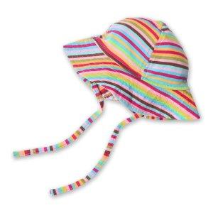Zutano彩条遮阳帽 婴童款
