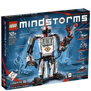 Lego3代机器人 EV3 (31313)