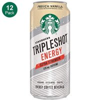 Starbucks Tripleshot 法式香草浓缩咖啡 15oz 12罐
