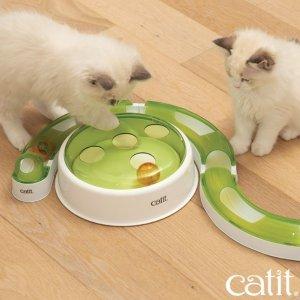 低至6.4折Catit 猫咪用品 猫砂盆、饮水机、猫玩具 英国铲屎官都爱它家