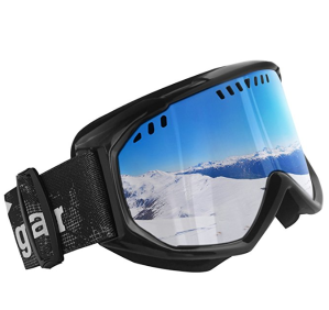 $14Unigear Ski Goggles Anti-fog Snow Snowboard OTG Goggles 100% UV Protection for Men, Women and Youth