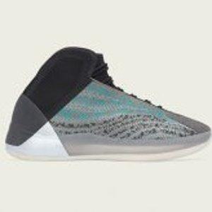 成人、大童、婴儿三款齐发adidas YZY QNTM 全新配色Teal Blue 10月10日发售