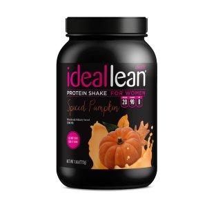 限量版-南瓜风味idealLean-蛋白粉 723g
