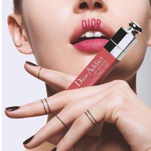 8折 收水动力、梦幻美肌Dior 美妆、护肤、香水全搜罗 超持久染唇露让你水嫩唇一夏