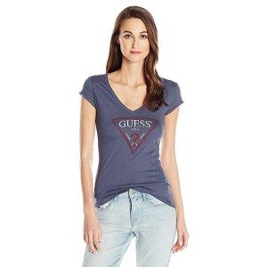 514272e3f6 Guess Women s Off The Shoulder Marcy Lace Dress · GuessWomen s Short Sleeve  Logo Vneck T-Shirt