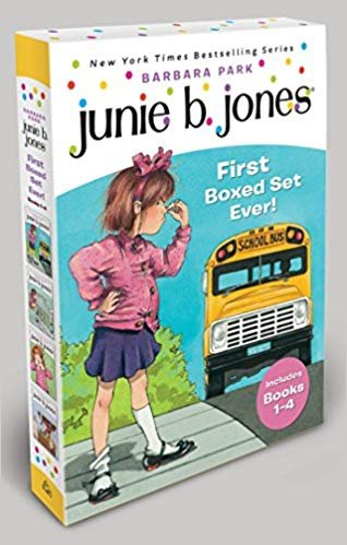 童书 Junie B. Jones's First Boxed Set Ever! (1-4本)